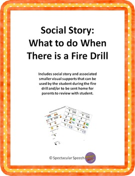 Social Story - What to do When There is a Fire Drill