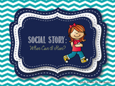 Social Story: When Can I Run?