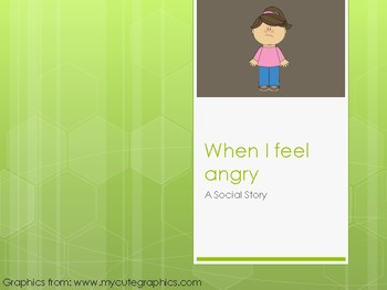 Social Story- When I Feel Angry