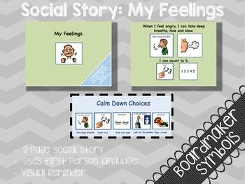 Social Story: My Feelings