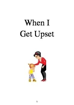 Social Story - When I Get Upset
