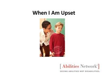 Social Story:  When I Get Upset