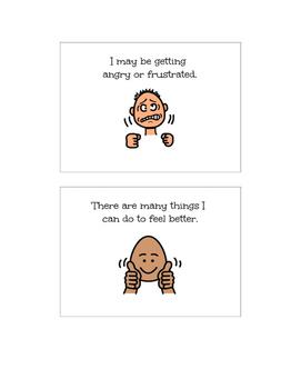 Social Story-When I Get Upset