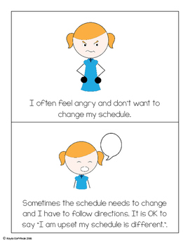 Social Story: When Schedules Change