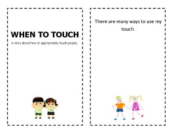 Social Story about Appropriate Touch