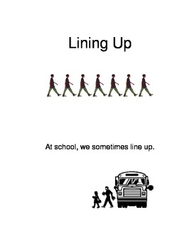 Social Story about Lining Up and Walking Safely