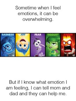 Social Story about children's Emotions.