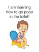 Social Story about going poop in the toilet