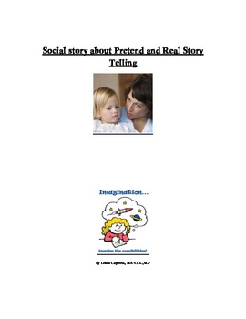 Social Story about not telling the truth