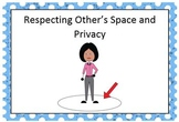 Social Story about respecting other's space and privacy