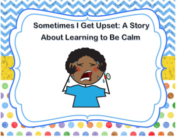 Social Story about tantrums and using coping skills