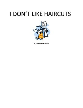Social Story about the fear of getting a haircut