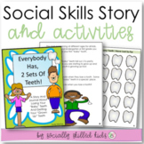SOCIAL STORY JOURNAL Everybody Has 2 Sets of Teeth {For K-2nd}