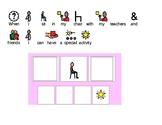 Social Story for Behavior Motivation Chart