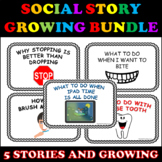 Social Stories for Behaviors and Life Skills (Bundle; Auti