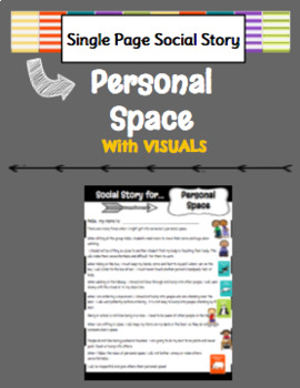 Social Story for Personal Space