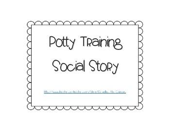 Social Story for Potty Training/ Toileting Freebie