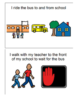 Social Story for Riding the Bus