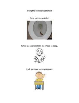 Social Story for Toileting at School