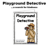 Social Story (illustrated)- Playground Detective