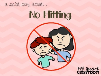 Social Story on No Hitting (Girl Version)