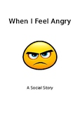 Social Story showing how to better deal with anger