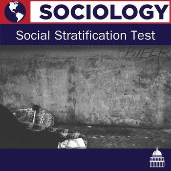 Social Stratification Sociology Test