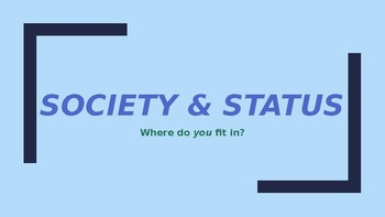 SOCIOLOGY - Social Structure & Society PPT