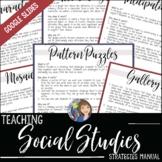 Social Studies Teaching Strategies Manual with Google Slides™