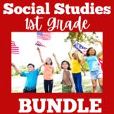 Social Studies | 1st Grade | Activities BUNDLE