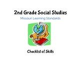 Social Studies: 2nd Grade Missouri Learning Standards Chec