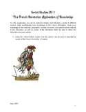 Social Studies 20-1 The French Revolution