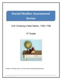 Social Studies 4th grade Study Guide and Unit Test.Creatin