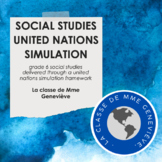 Social Studies 6 through a United Nations Simulation
