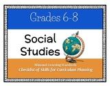 Social Studies: 6th-8th Grade Missouri Learning Standards