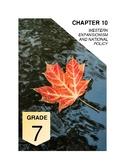 Alberta Social Studies 7: Chapter 10 Workbook Section