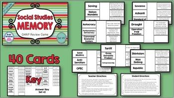 Social Studies 7th Grade Georgia Milestones Review - BUNDLE