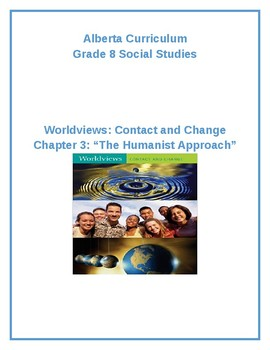 "Social Studies 8: Chapter 3 ""The Humanist Approach"" Resource Bundle (Alberta)"