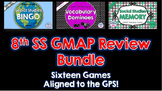 Social Studies 8th Grade Georgia Milestones Review - BUNDLE