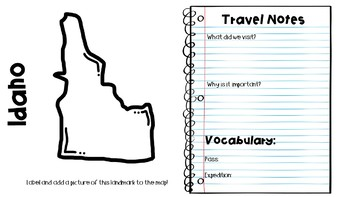 Social Studies ALIVE!  West Travel Guide