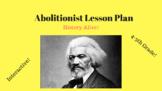 Social Studies - Abolitionist Lesson Plan (History Alive)