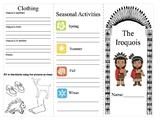 Social Studies: Aboriginals Iroquoian/Algonquoian Brochure