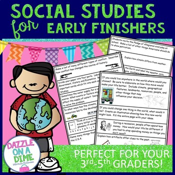 Early Finishers - Social Studies