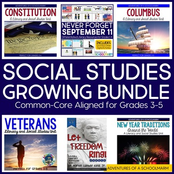 Social Studies Activities for Grades 3, 4, 5