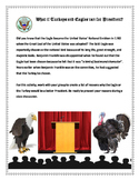 SS / Thanksgiving Activity: What if Turkeys and Eagles ran for President?