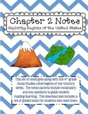 Social Studies Alive Ch. 2 Notes 4th Grade