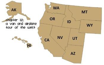 Social Studies Alive- Chapter 12- West Region Resources