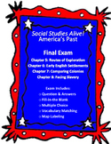 Social Studies Alive! Final Exam for Chapters 5, 6, 7, 8