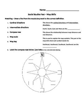 Social Studies Alive Map Skills Review Unit 2