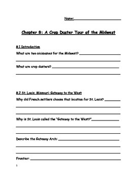 Social Studies Alive!, Midwest, Chapter 8